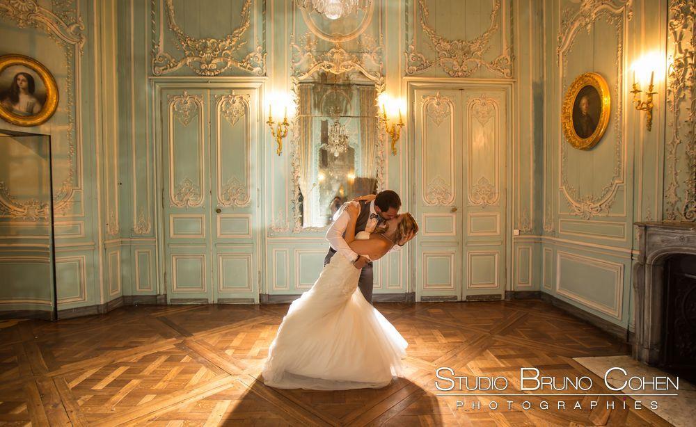 Marine et Fabio : Un mariage de princesse au Chateau de Champlatreux