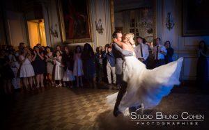 mariage-chateau-champlatreux-epinay-couple-premiere-danse-soirée