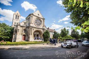 mariage-paroisse-luzarches-temoins-invités-voiture