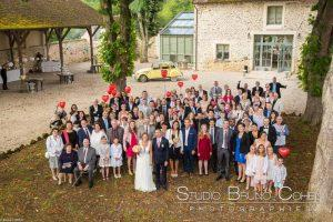 mariage-claye-souilly-prieure-vernelle-groupe-invites-maries