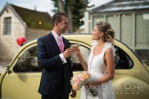 mariage-claye-souilly-prieure-vernelle-voiture-collection-maries