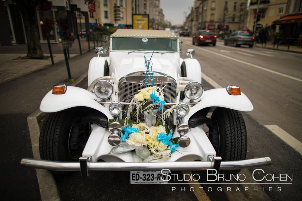 Excalibur … c'est aussi une voiture qu'on peut louer pour son mariage !
