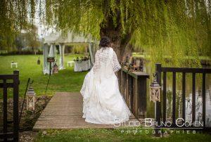 mariage-moulin-bechet-croisy-sur-eure-mariée-parc
