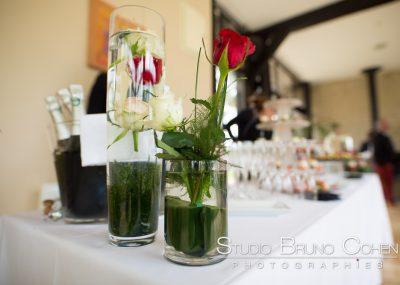 mariage-moulin-bechet-croisy-sur-eure-decoration-fleurs