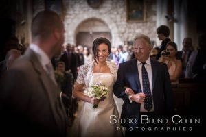 mariage-chateau-verderonne-eglise-borest-couple-mariés