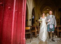 mariage-chateau-verderonne-eglise-borest-couple-mariés-ecosse-kilt