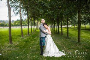 mariage-chateau-verderonne-eglise-borest-oise-mariés-couple-kilt-ecosse