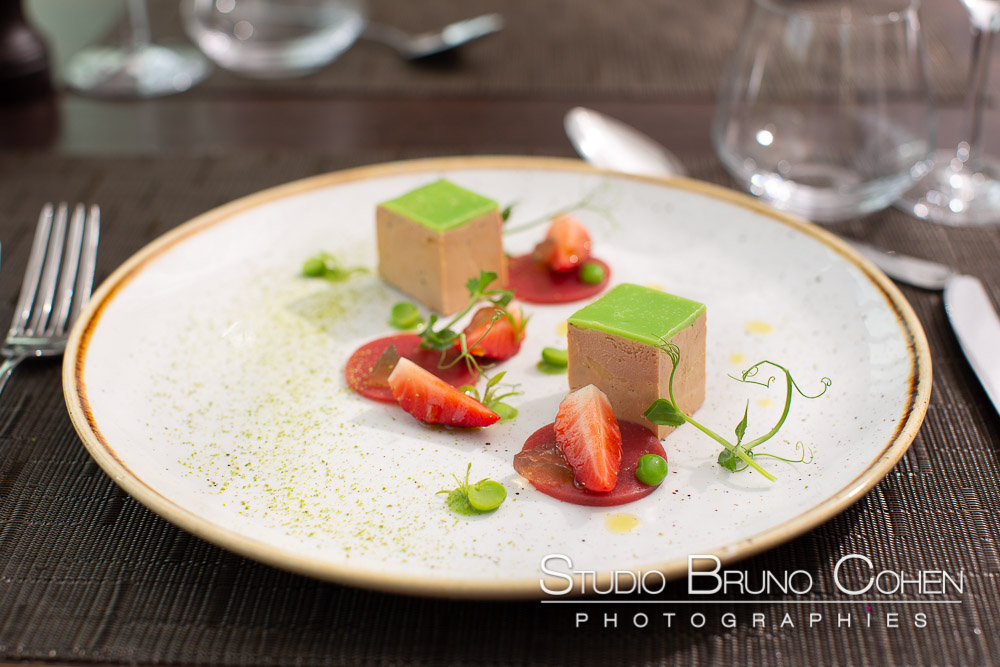 photo culinaire pour le restaurant Donatello Chantilly
