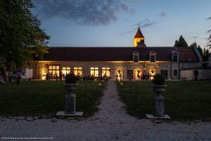 mariage-chateau-auvillers-orangerie-crepuscule