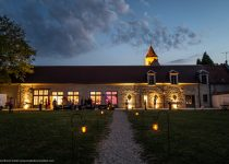 mariage-chateau-auvillers-orangerie-crepuscule