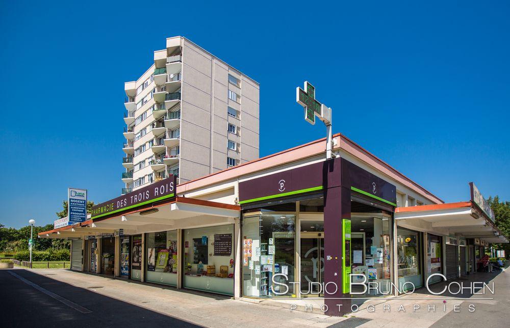 Photographie d'architecture pour la Pharmacie des Trois Rois de Nogent-sur-Oise