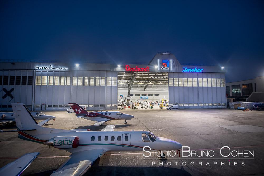 Reportage photo sur les pistes de l'aéroport du Bourget
