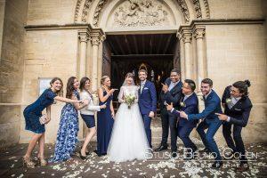 mariage-eglise-vincennes-temoins-couple-invités