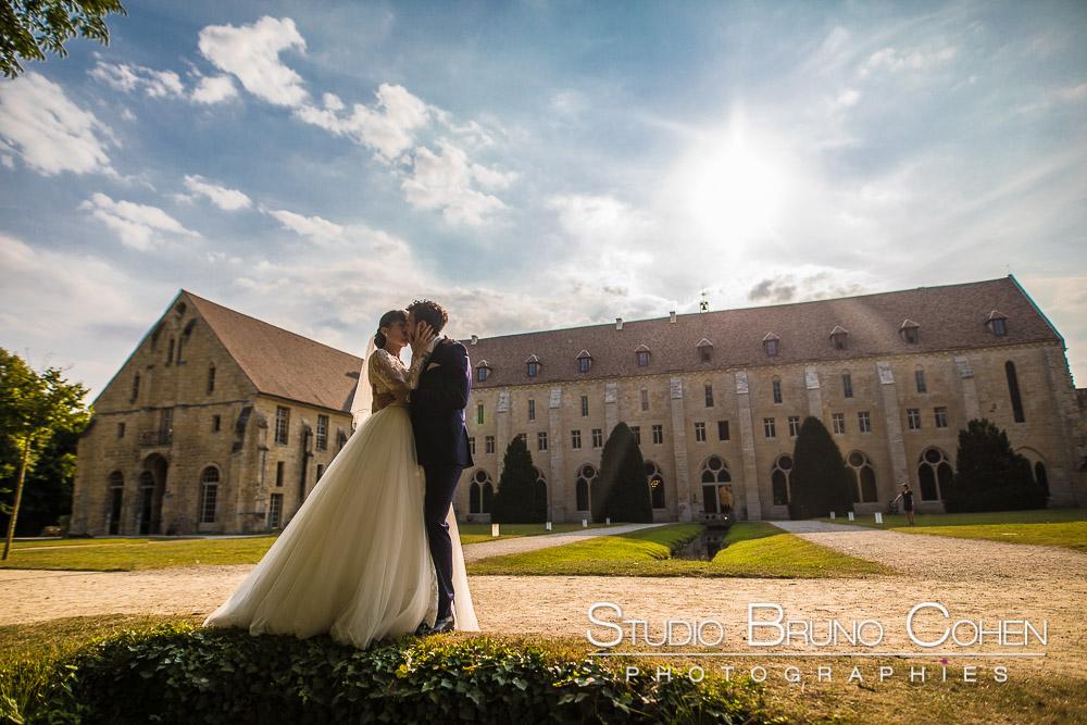 Mariage de Margaux et Quentin – Abbaye de Royaumont