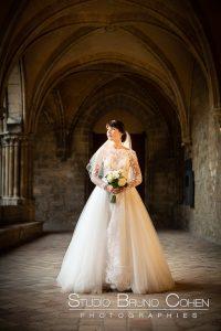 mariage-abbaye-royaumont-robe-mariée-parc-