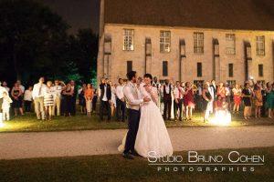 mariage-abbaye-royaumont-couple-invités-oise-lieu