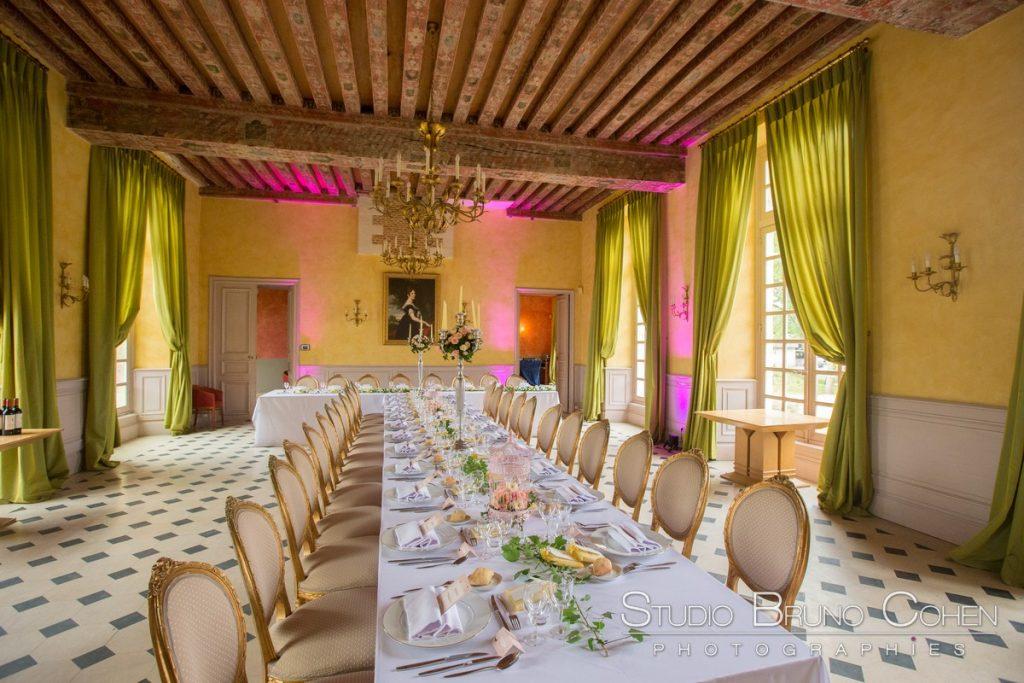 Salle de reception du chateau de raray