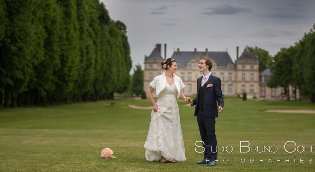mariage d'Aurélie et Grégory au Chateau de Raray