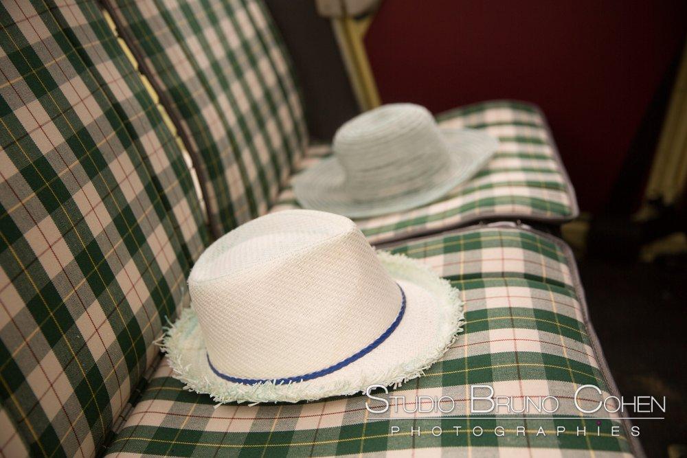 chapeau pour le mariage