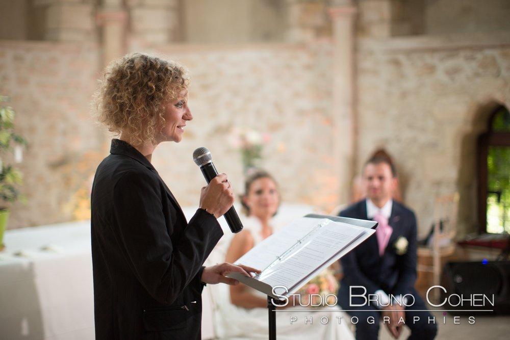 discours pendant la ceremonie laique