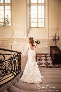 mariage-chateau-ermenonville-mariée-robe