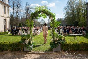 mariage-chateau-ermenonville-ceremonie-laique-groupe-invités