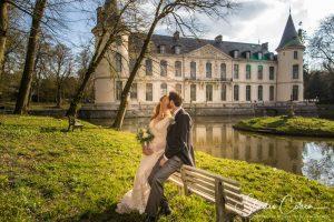 mariage-chateau-ermenonville-couple-baiser