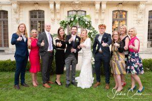 mariage-chateau-ermenonville-temoins-invites-couple