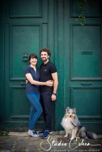 mariage-preparation-rue-senlis-couple-chien-famille