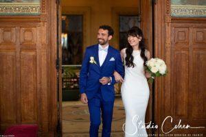 mariage-mairie-vincennes-couple-arrivée