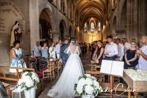 mariage-eglise-coye-la-foret-pere-fille-entrée