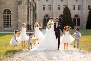 mariage-abbaye-royaumont-mariés-enfants