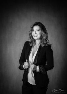 Portrait corporate féminin