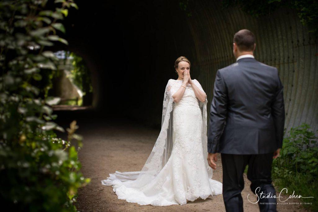 retrouvailles de mariés au parc de Grouchy, Osny
