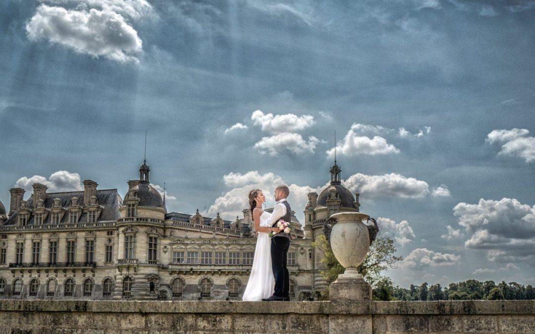 Photographe Chantilly : votre mariage au château avec le Studio Bruno Cohen