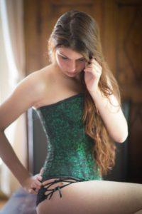photo boudoir femme corset