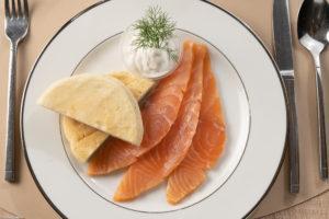 plat BELLON Traiteur saumon fumé